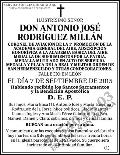Antonio José Rodríguez Millán